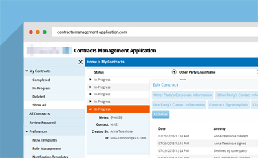 CMA (Contracts Management Application)
