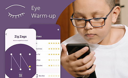 Eye Tracking App for Preventing Eye Strain